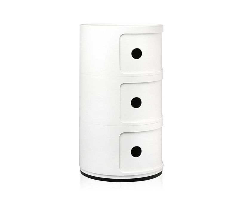 Kartell - Componibili Container - 3 elementen - wit - 3