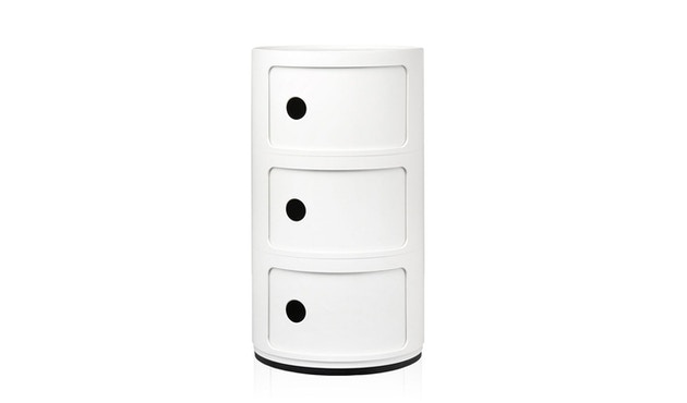 Kartell - Componibili Container - 3 elementen - wit - 1