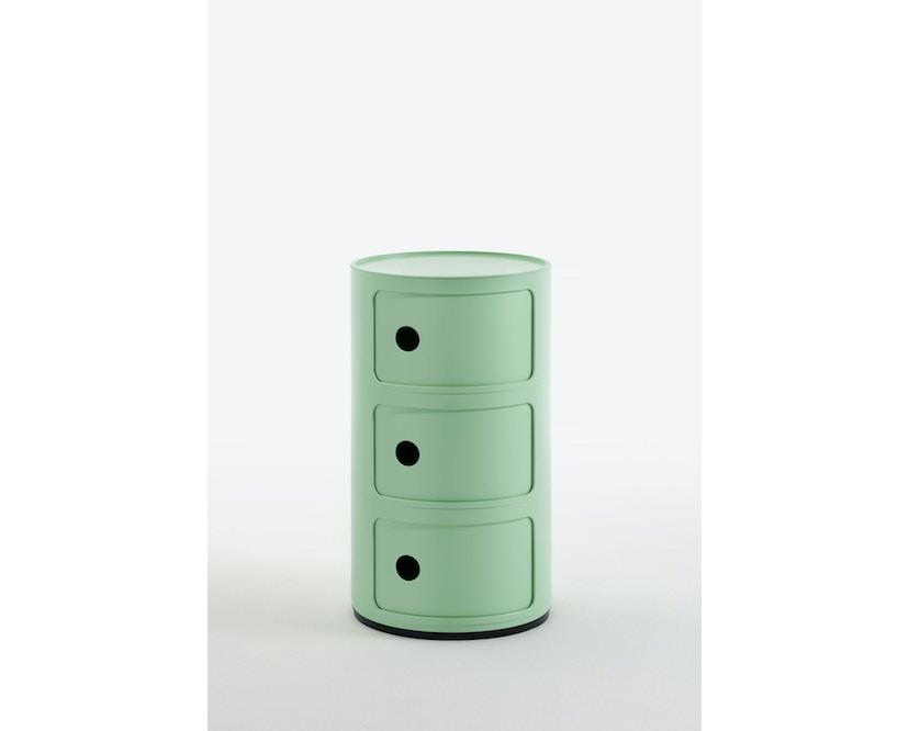Kartell - Componibili Bio Container - 3 Elemente - grün - 1