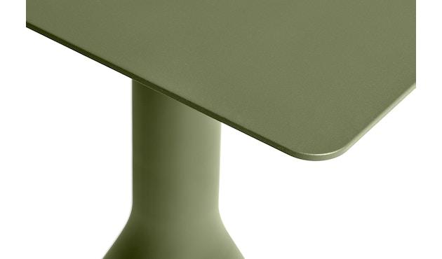HAY - Palissade Cone Tisch quadratisch - anthrazit - 2