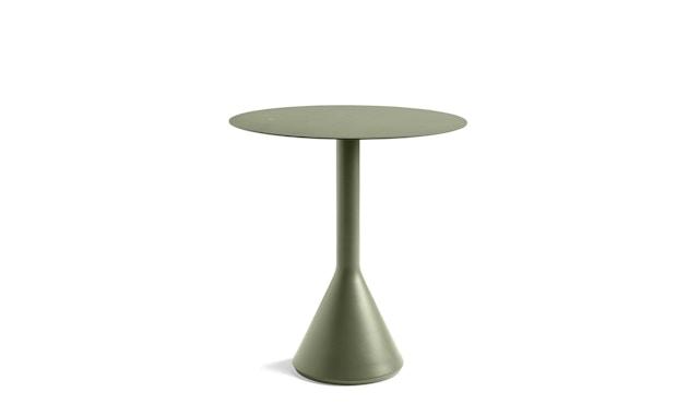 HAY - Palissade Cone Tisch rund - oliv - Ø 60 - 1