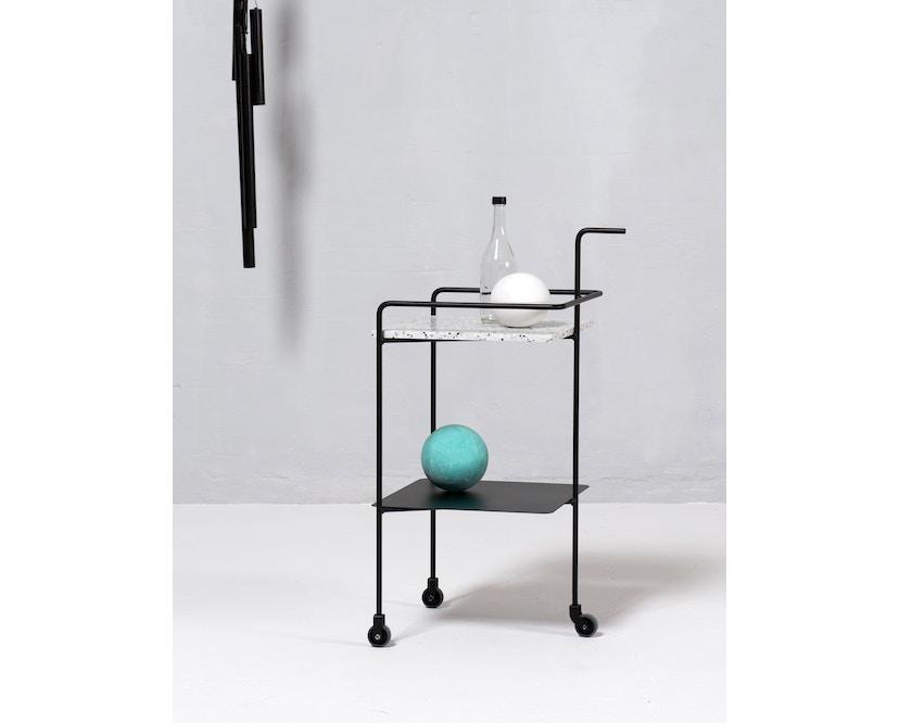OK Design - Confetti Serviertisch - Black n White - 4
