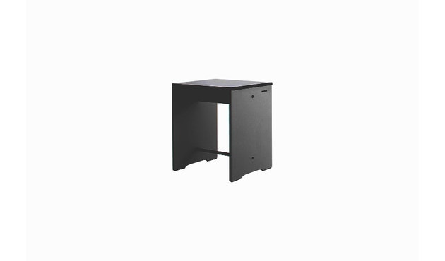 Conmoto - Table d'appoint Riva Hocker & - anthracite - 1