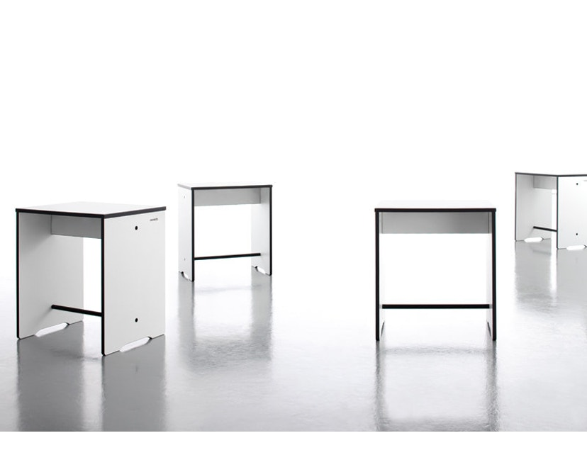Conmoto - Table d'appoint Riva Hocker & - anthracite - 3
