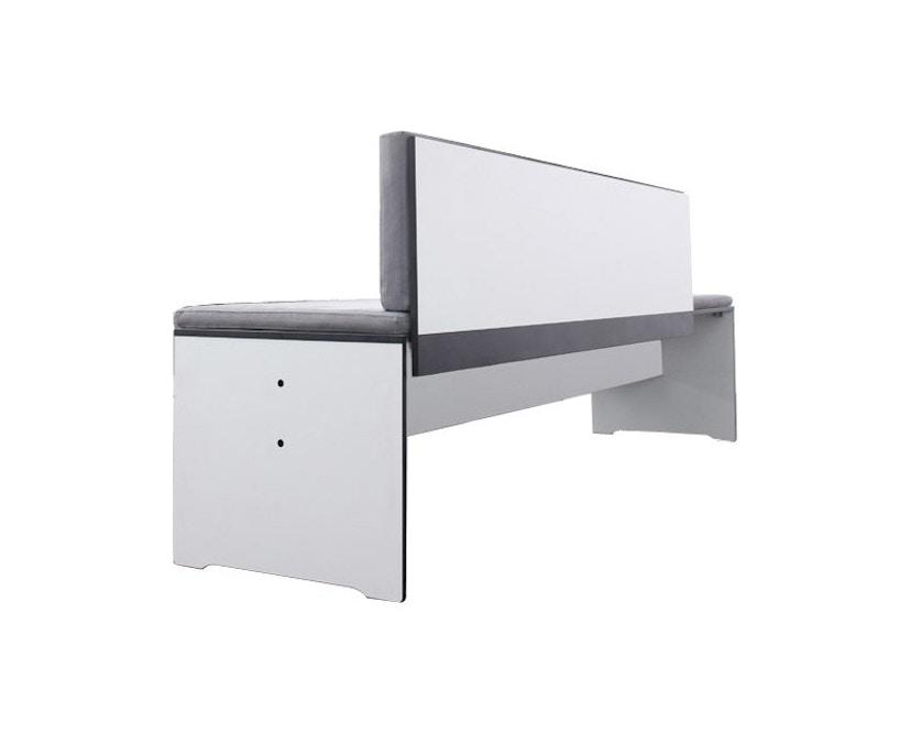 Conmoto - Rückenkissen Riva - für Bänke S+L mit Rückenlehne 160x30 - anthrazit - 1