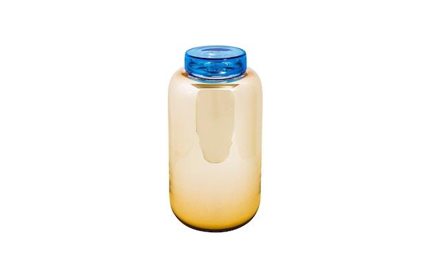 Pulpo - Container Vaas hoog - Oranje/ Blauw - 3