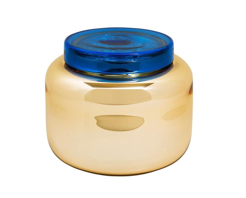 Pulpo - Container Vase klein - orange/blau - 3