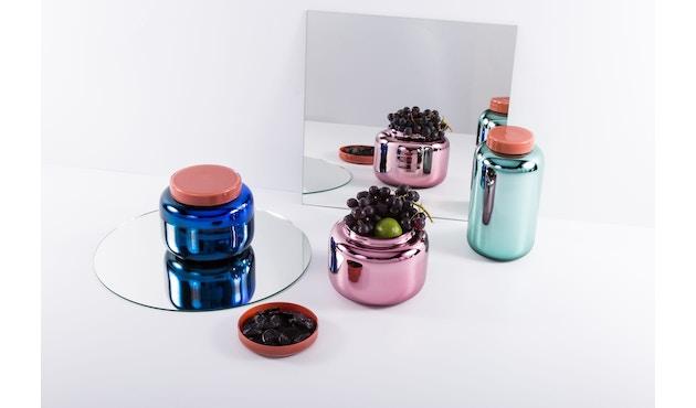 Pulpo - Container Vase klein - blau - 9