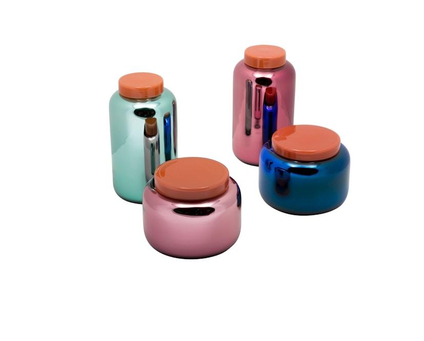 Pulpo - Container Vase klein - blau - 16