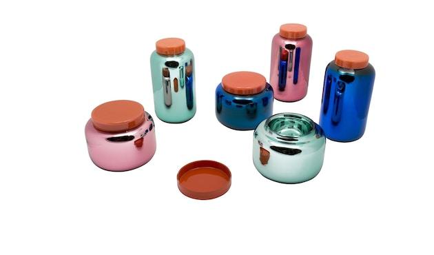 Pulpo - Container Vase klein - blau - 17