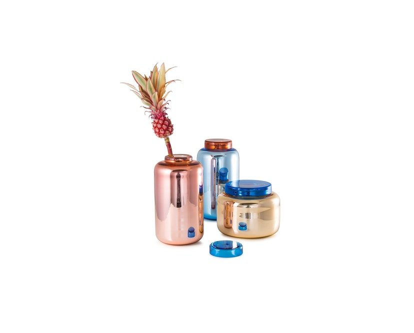 Pulpo - Container Vase klein - blau - 19