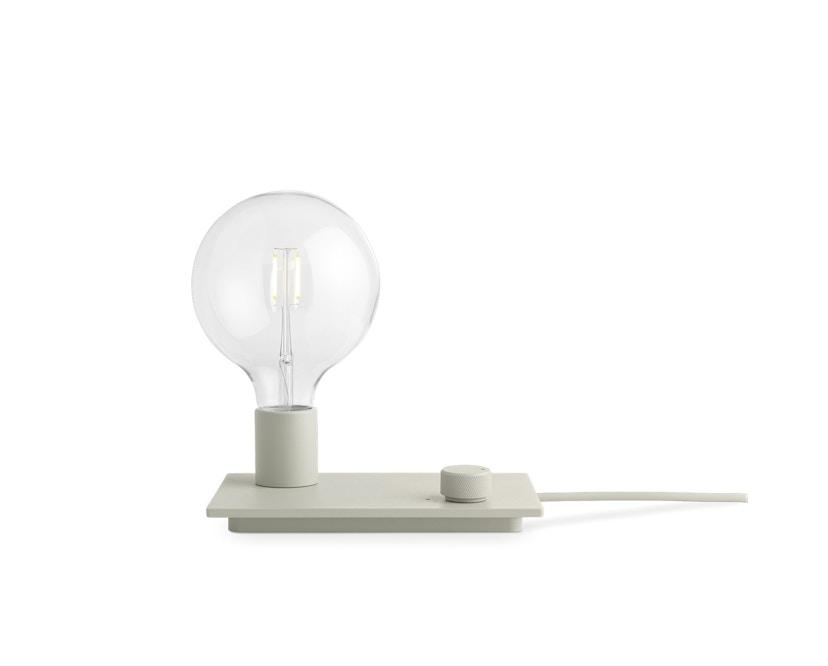 Muuto - Control LED Tischleuchte - grau - 1