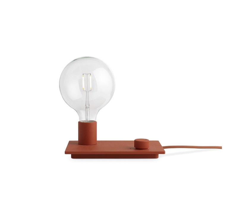 Muuto - Control LED Tischleuchte - rot - 1