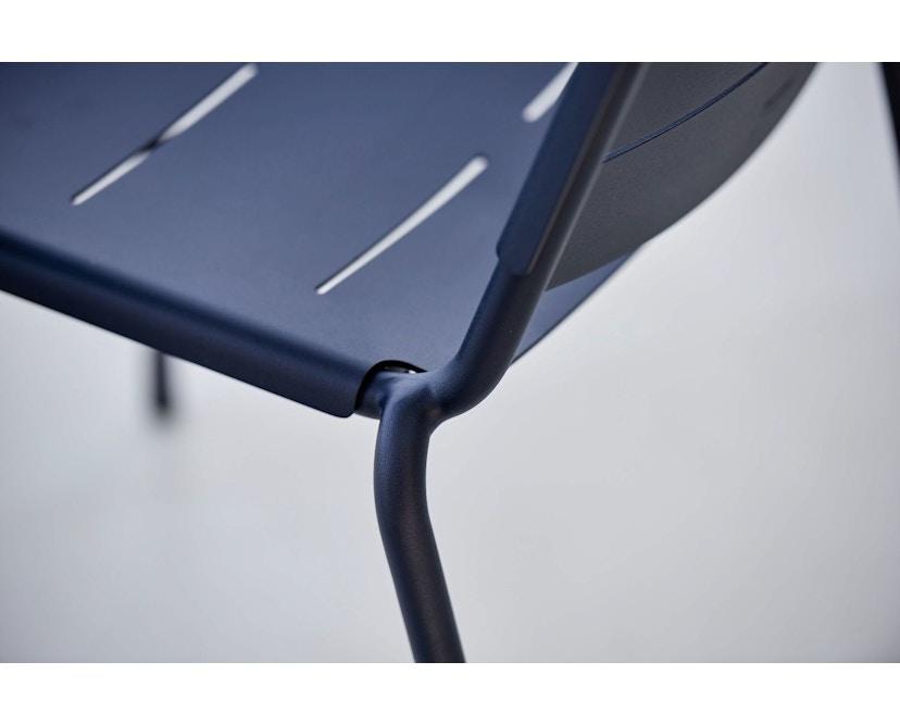 Cane-line - Copenhagen City Stuhl ohne Armlehne - olivegrün - 3