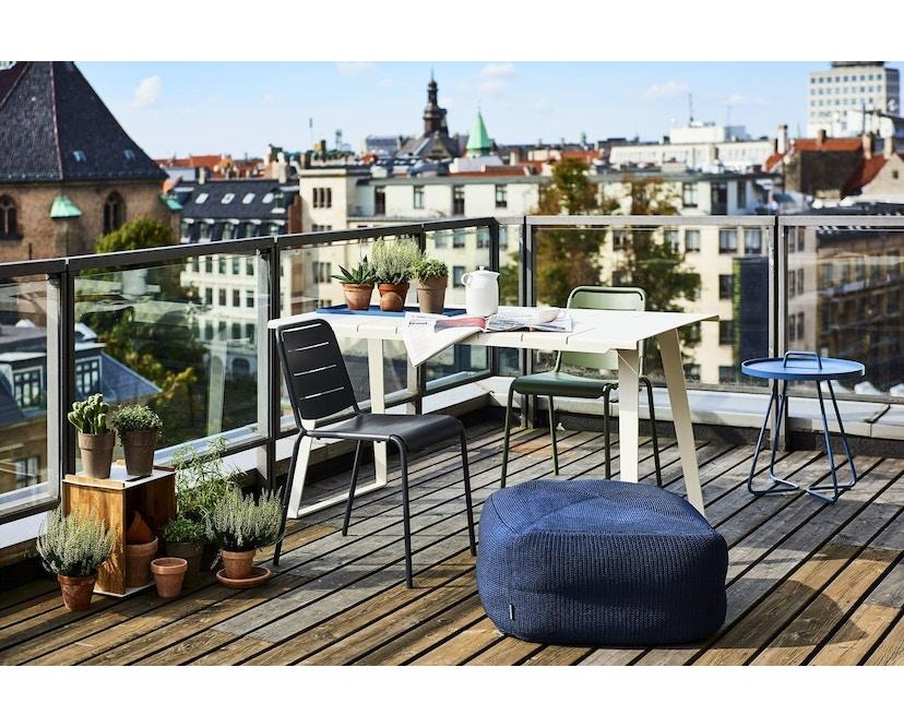 Cane-line - Copenhagen City Stuhl ohne Armlehne - olivegrün - 9