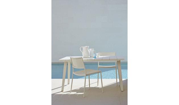 Cane-line - Copenhagen City Stuhl ohne Armlehne - olivegrün - 10