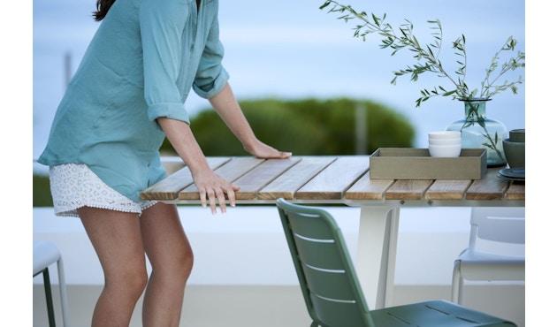Cane-line - Copenhagen City Stuhl ohne Armlehne - olivegrün - 11