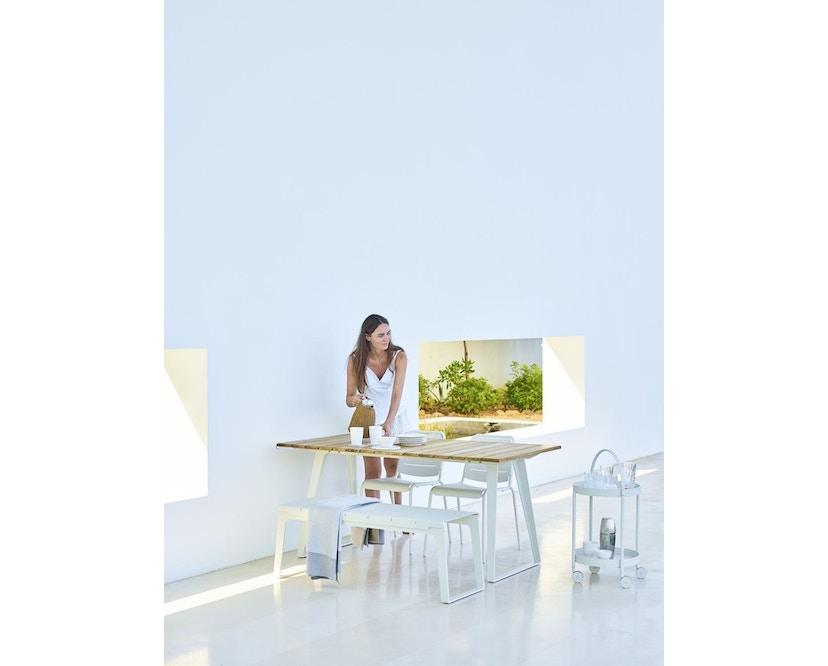 Cane-line - Copenhagen City Stuhl ohne Armlehne - olivegrün - 13