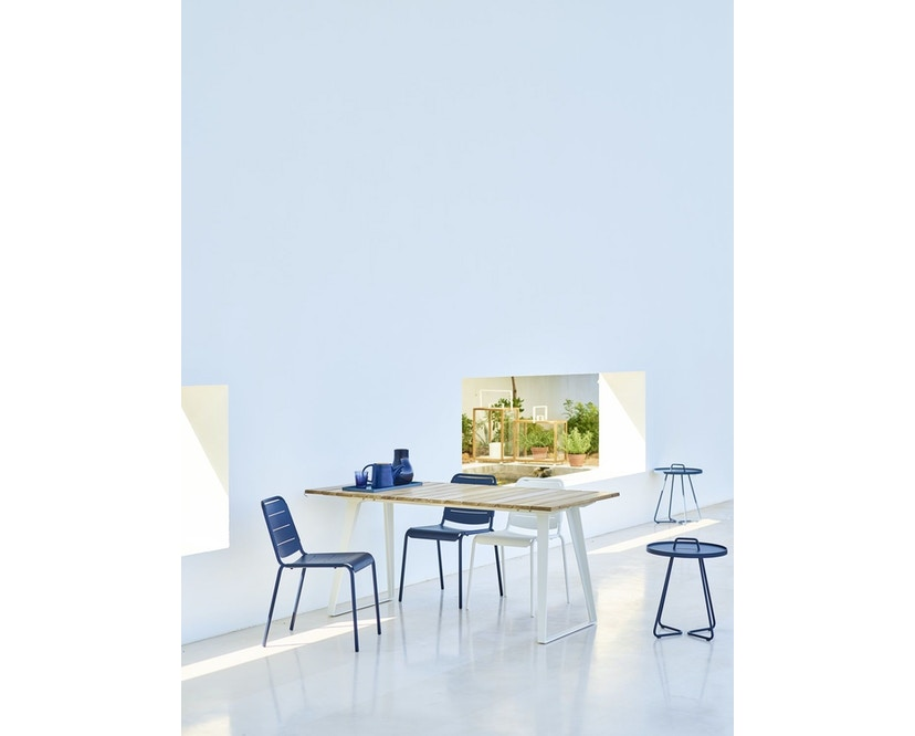 Cane-line - Copenhagen City Stuhl ohne Armlehne - olivegrün - 15