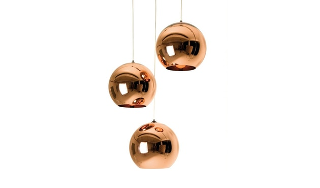 Tom Dixon - Copper hanglamp - koper - M - 2