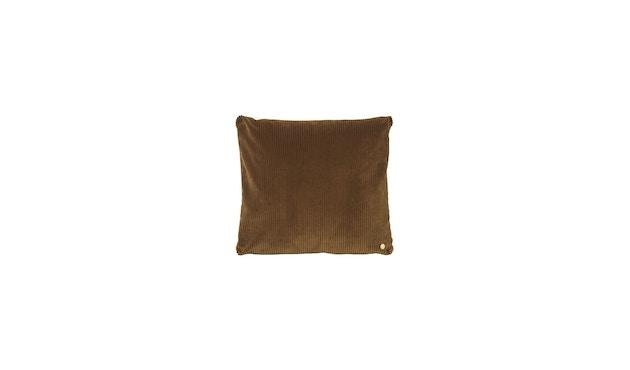 ferm LIVING - Corduroy Kissen - golden olive - 1