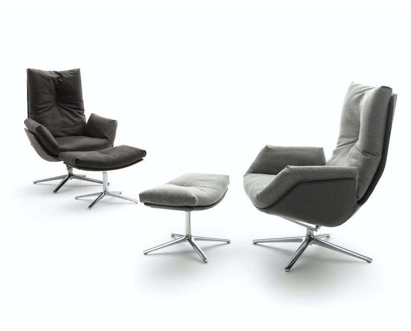 Cor - CORDIA Lounge Hocker 1 Dessin - marone - 3