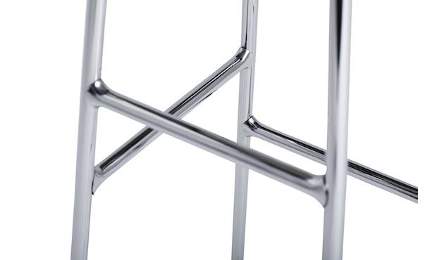 HAY - Cornet Bar Hocker - Räuchereiche - Gestell weiches schwarz - low - 5