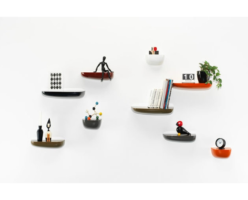 Vitra - Corniches wandplank - oranje - klein 21,0 x 14,4 x 11,6 cm - 5