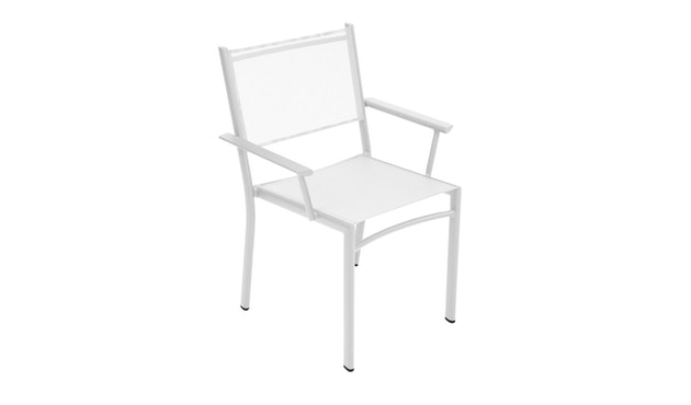 Fermob - COSTA fauteuil - 01 katoenwit mat - 1