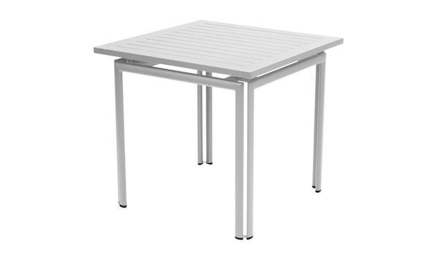 Fermob - COSTA Tisch 80 x 80 cm - 38 Metallgrau - 1