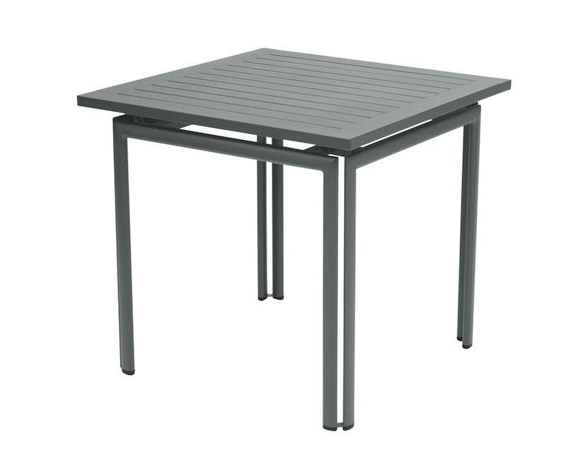 Fermob - COSTA Tisch 80 x 80 cm - 26 Gewittergrau - 1