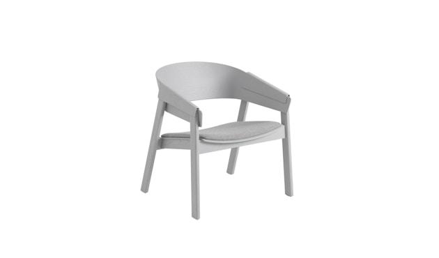Muuto - Cover Lounge Stuhl mit Polster - Remix 123/ grau - 1