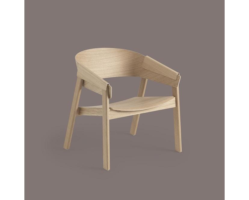 Muuto - Cover Lounge Stoel - eiken - 2