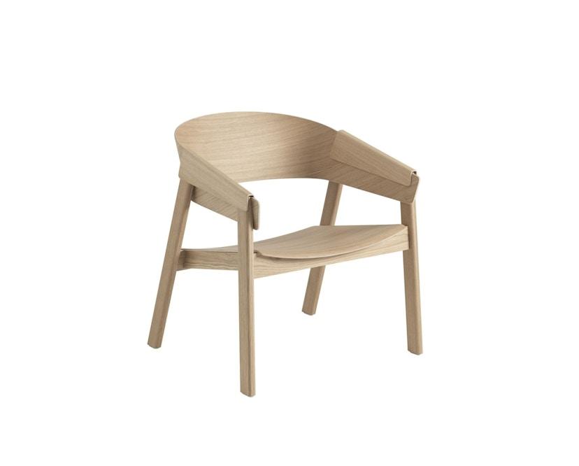 Muuto - Cover Lounge Stoel - eiken - 1