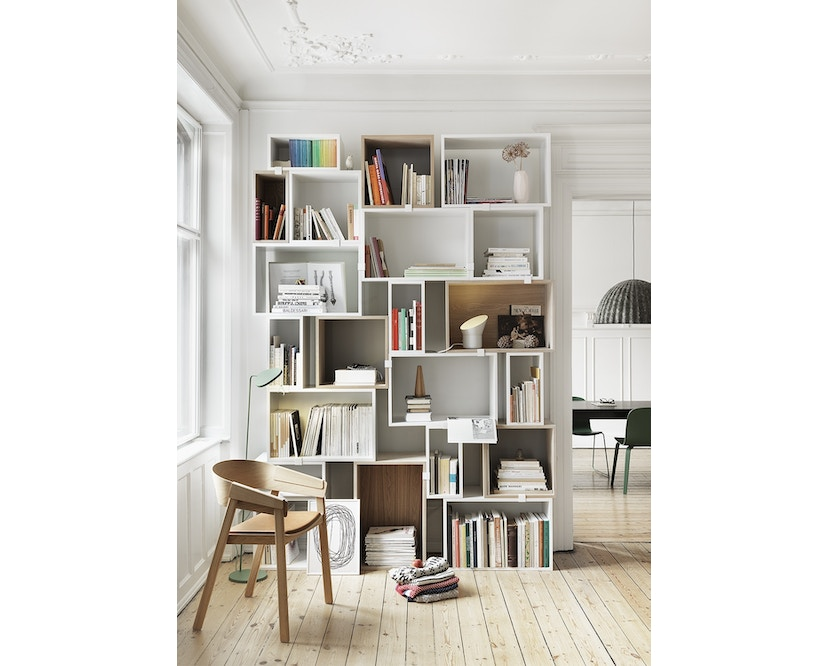 Muuto - Stacked - light grey - Element groß - 3