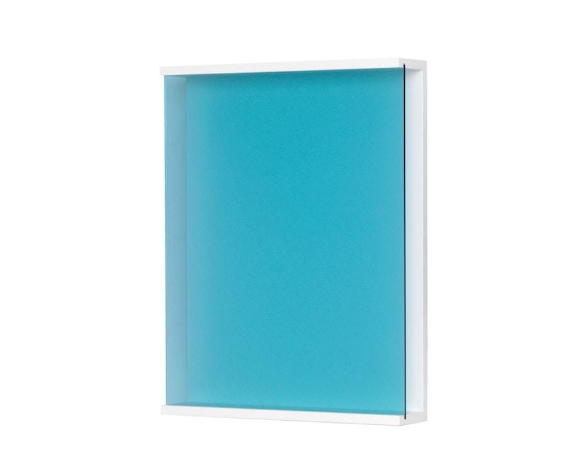 Schönbuch - Covershow Zeitschriftenregal - .730 Acrylglas blau - 1