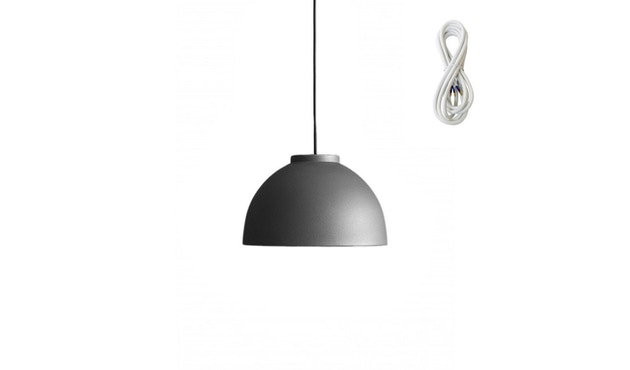Made By Hand - Copenhagen hanglamp - Antraciet licht - wit - 1