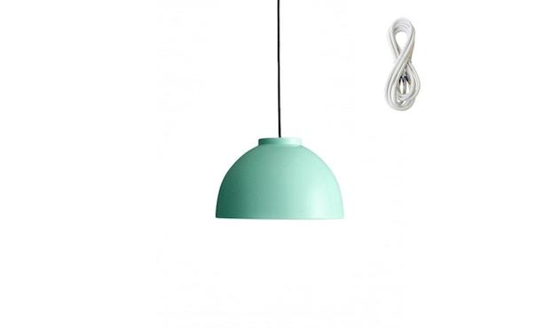 Made By Hand - Copenhagen Hängeleuchte - mint - Kabelfarbe white - Baldachin weiß - 1