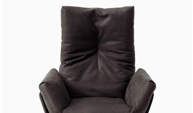 Cor - CORDIA Lounge Drehsessel, hoher Rücken,  Korpus Stoff, Kissen Stoff - braun - 4