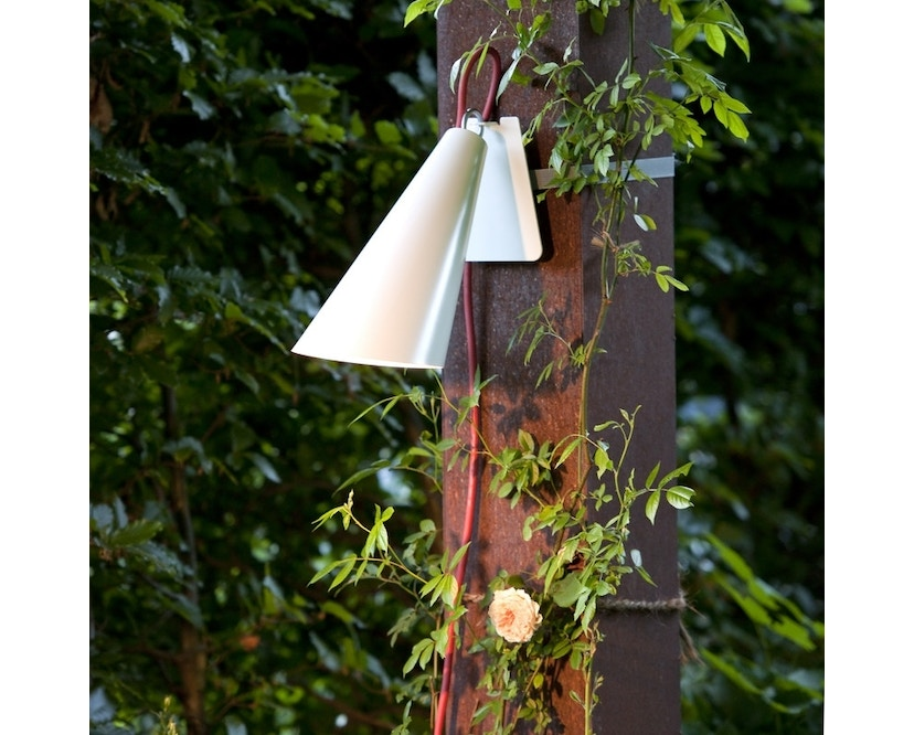 Domus - Pit Out riem-tuinlamp - wit - 8