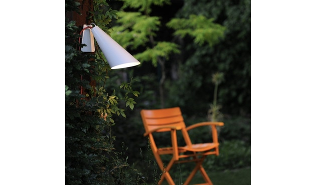 Domus - Pit Out riem-tuinlamp - wit - 9