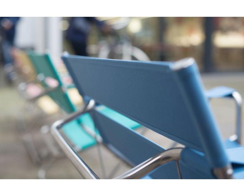 Tecta - D4 Bauhaus-Faltsessel- mit PTFE- Gleitern - grau - 8