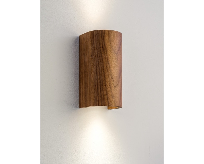 Domus - Tube wandlamp - walnoot - 2