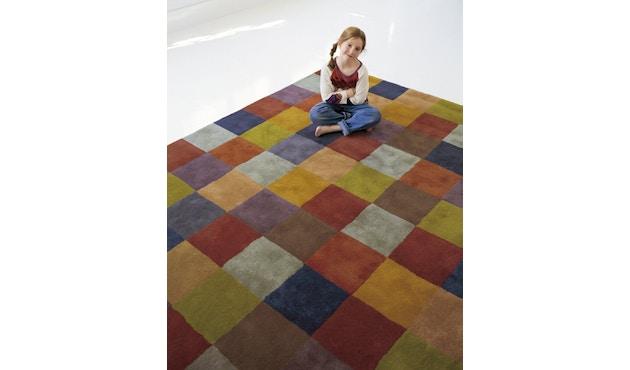 Nanimarquina - Cuadros 1996 Teppich - mehrfarbig - 85 x 135 - 2
