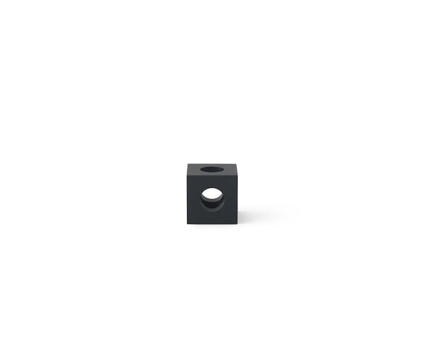 Menu - Cube Kerzenständer - schwarz - 2