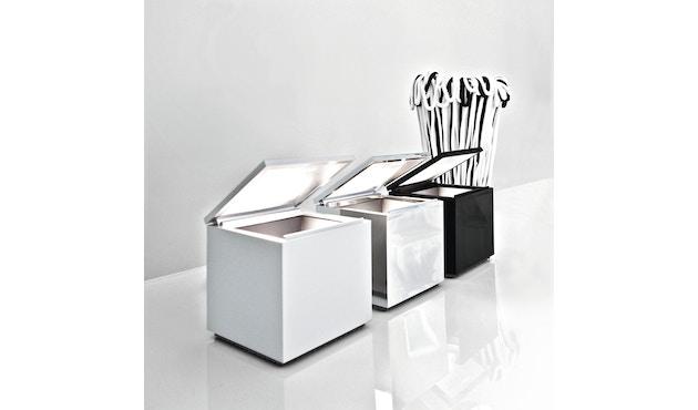 Cini & Nils - Cuboluce LED - weiß - zwart - 2
