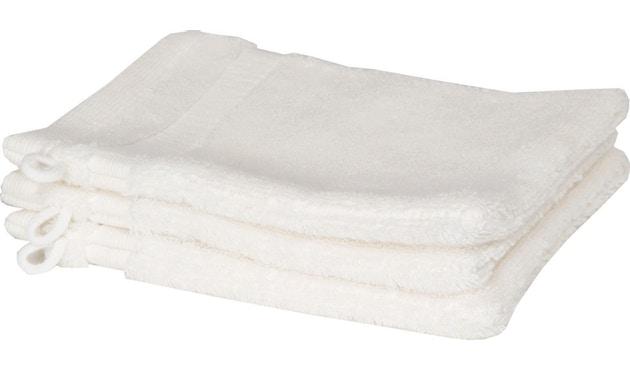 SCHÖNER WOHNEN-Kollektion - Cuddly Waschhandschuh 3er Set - weiß - 3