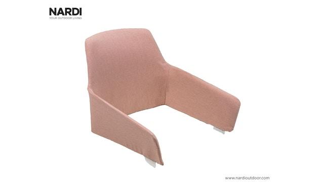Nardi - Schalenkissen Net Relax - rosenquarz - 1