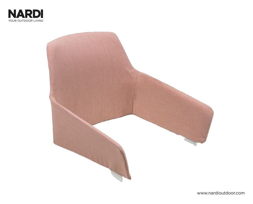 Nardi - Zitschaalkussen Net Relax - rozenkwarts - 1
