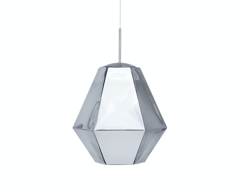 Tom Dixon - Cut Pendelleuchte - hoch - chrom - 2